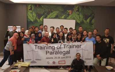 Training Of Trainer (TOT) Paralegal